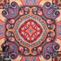 Индийский Мандала Гобелен Пляжное Полотенце Yoga Mat Одеяло Скатерть Boho Покрывало Мандала Гобелен Пляж Стене Висели Гобелены