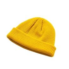 Adultos de gorra de punto sombrero gorra de marinero brazalete Casual sin  ala Retro azul marino de moda caliente sombreros fc6cb874ac4