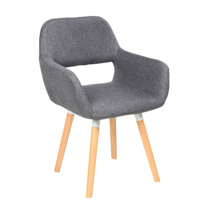Nordic modern minimalist fabric leisure home dining chair student computer chair italian modern nordic chair home restaurant cafe hotel chair practical windsor chair the study chair