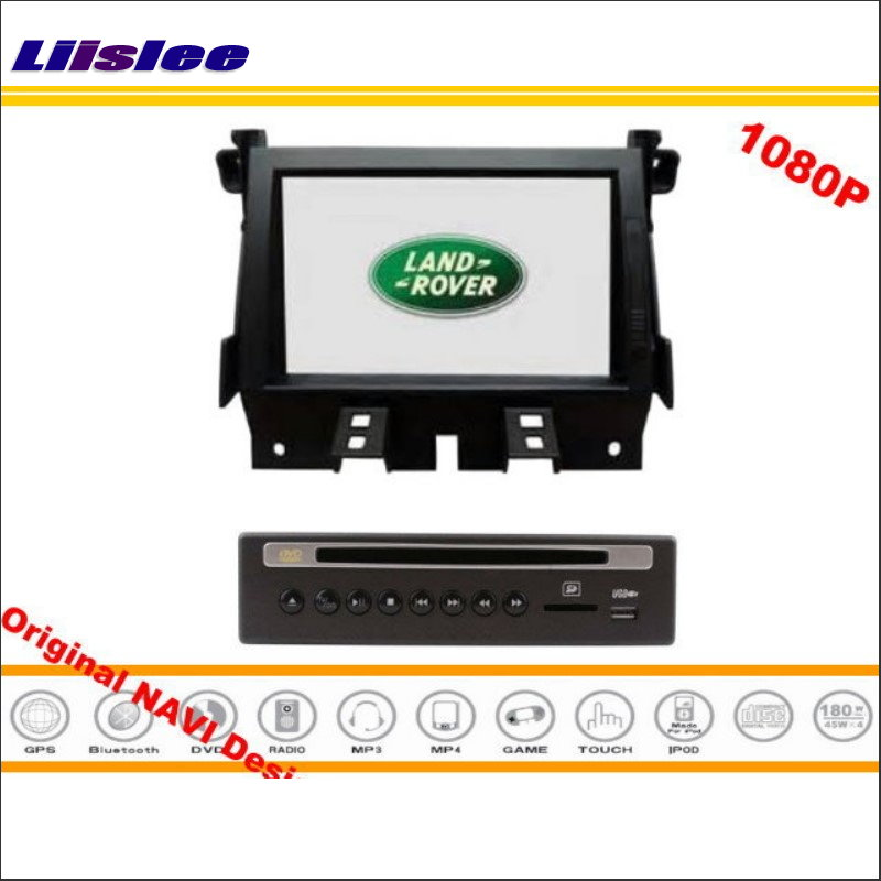 Liislee For Land Rover Discovery 4 / LR4 Car DVD Player & GPS NAVI Navigation System + Radio Touch Screen Bluetooth Multimedia our discovery island 4 dvd