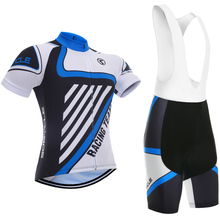 2017 team pro cycling jersey bule mens quick dry blue bicycle clothing 5D pad bike shorts gel set