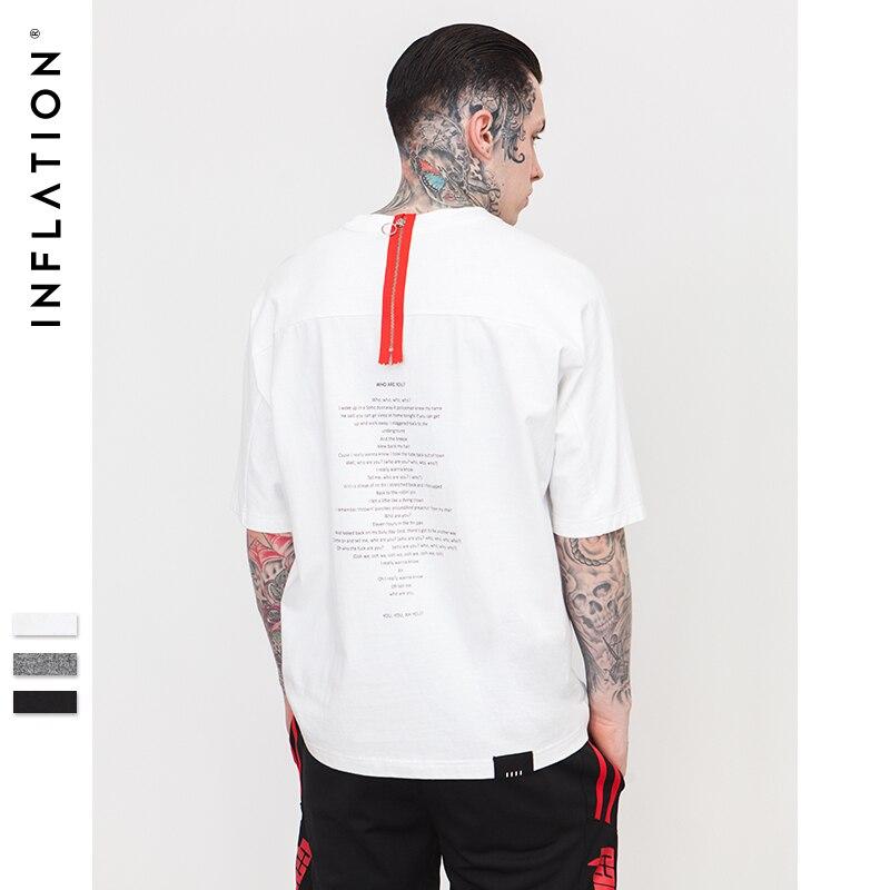 d9ee2e33327b0 Men oversized black white stripe long Sleeve T-shirt streetwear hip hop  plus striped tee