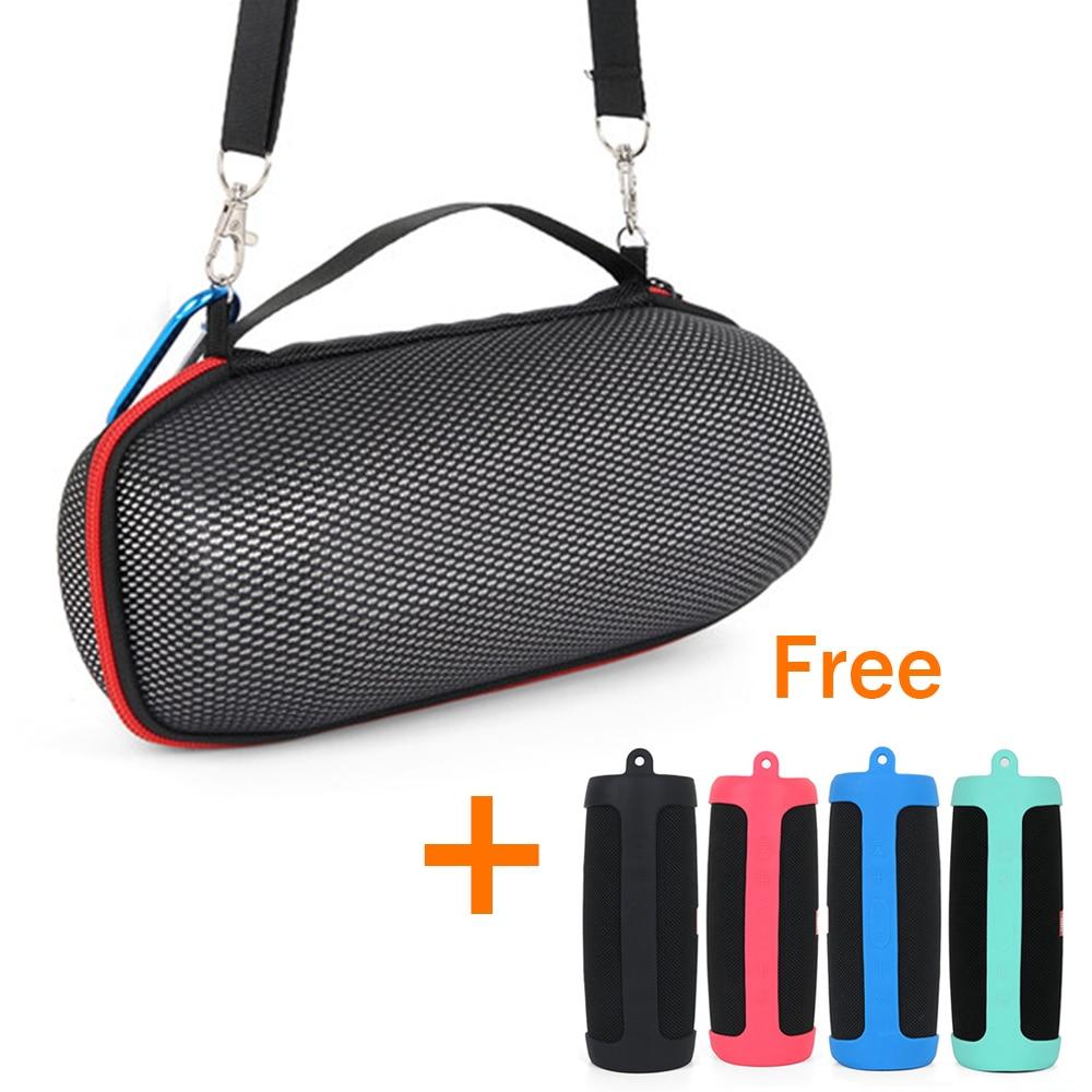 Portable Shoulder Silicone Case Protective Storage Bag For JBL Charge 4 Speaker