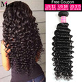 Peruvian Deep Wave Hot Virgin Hair 8A Unprocessed Deep Wave Peruvian Virgin Hair Weaving 100% Cheap Hair Bundles 3Bundles Deal