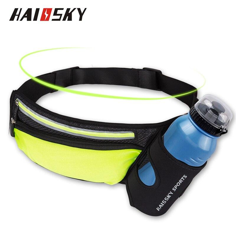 Sports Bottle Phone Case: Haissky Waist Bag Belt Water Bottle Pouch Waist Pack Sport