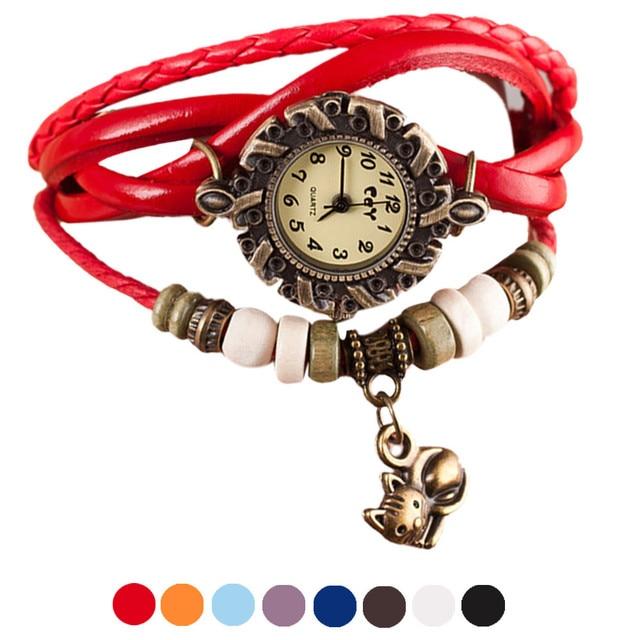 a080638ef715 reloj de pulsera mujer gato