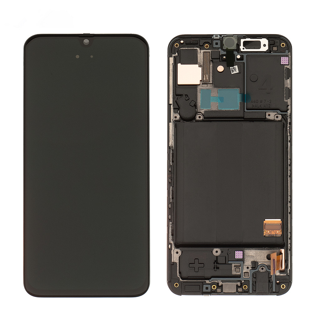 Original Super AMOLED For <font><b>Samsung</b></font> Galaxy <font><b>A40</b></font> <font><b>LCD</b></font> Display Touch Screen Digitizer Assembly For <font><b>Samsung</b></font> <font><b>A40</b></font> A405 A405F A405FN/DS image