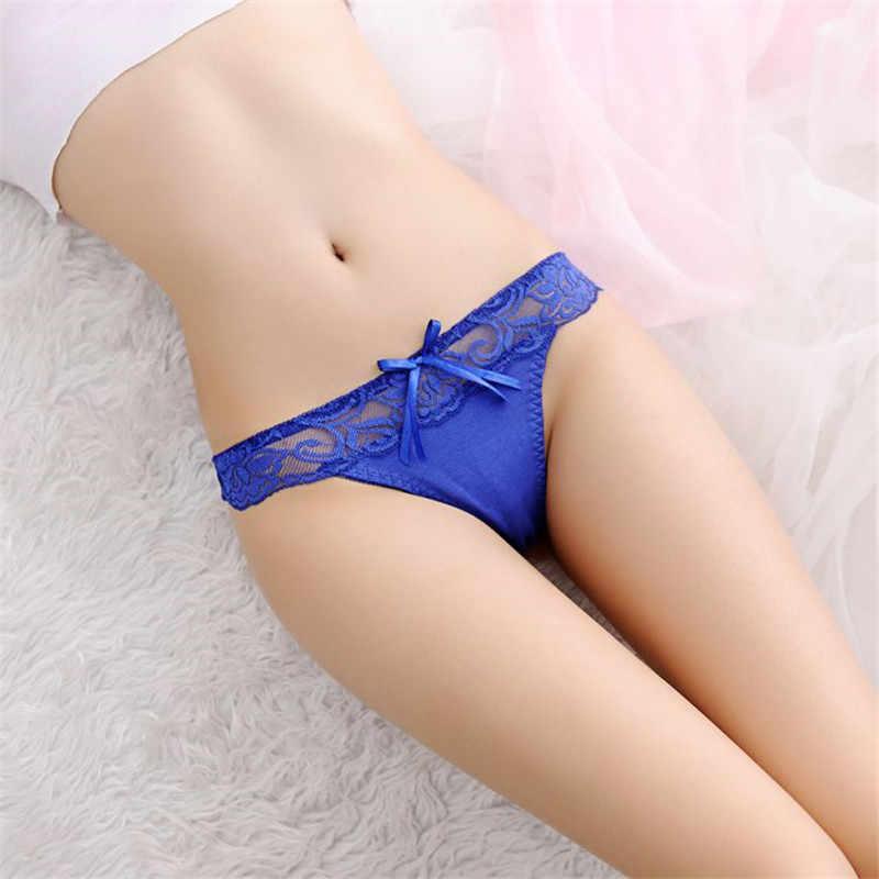 נשים סקסי תחתוני נשים חלקות תחתוני גבירותיי מחרוזת תחרת g מחרוזת מכנסיים חמוד חוטיני תחתונים שקוף תחתונים
