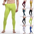 Trendy Sexy Men's Soft Long Johns Thermal Underwear Pants Bottom Trousers Cotton