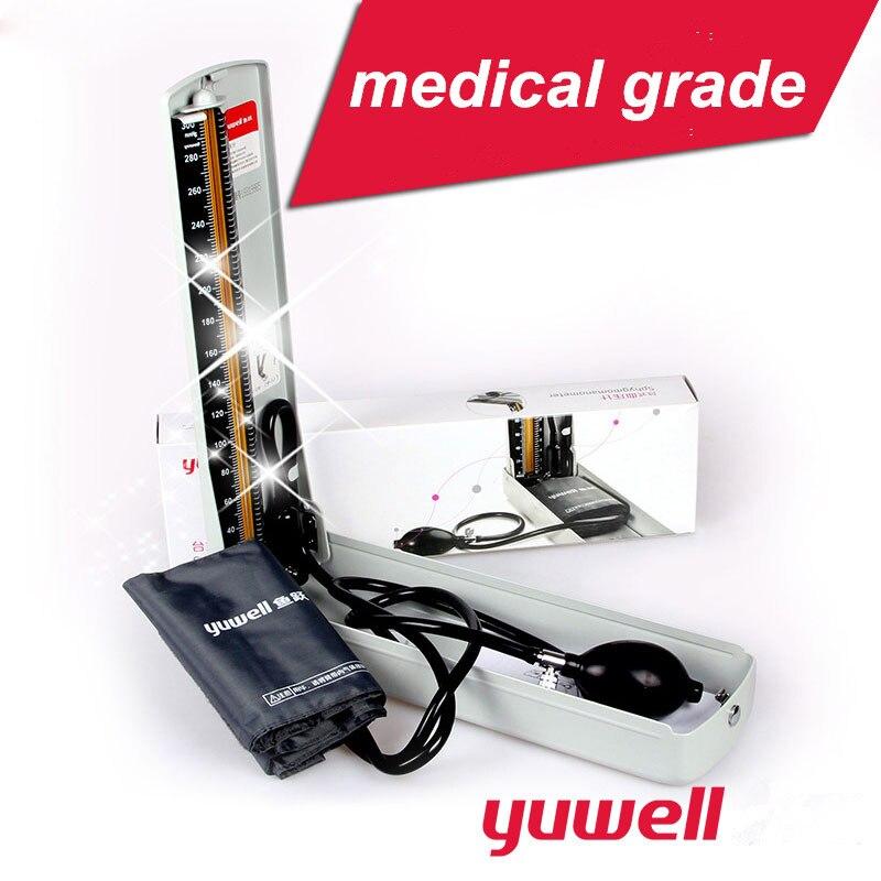 yuwell mercury blood pressure meter sphygmomanometer manual blood pressure monitors manual arm blood pressure meter CE
