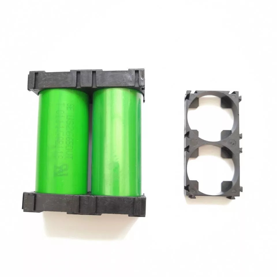 100pcs/lot 2P 26650 Battery Holder Bracket 266500 Cell Spacer DIY Battery Pack