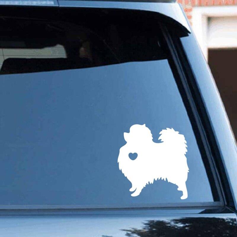 FREE SHIPPING Pomeranian Dog Animal Vinyl Die Cut Car Decal Sticker