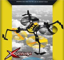 2017 new YD A5 Inverted stunt rc drone 2.4G 4ch upside down 3D invert flight rc quadcopter helicopter with led light kid rc toy