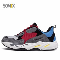 Somix 2017 Hot Sale Cushioning Running Shoes For Men Popular Style Athletic Light Sneakers Breathable Outdoor