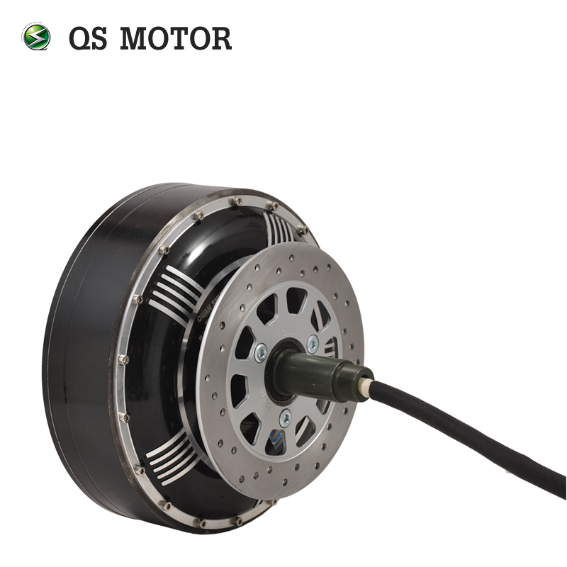 <font><b>QS</b></font> <font><b>MOTOR</b></font> 8000W <font><b>273</b></font> 50H V3 72V 96V 20kW 350N.m Peak Brushless DC Gearless Electric Car In Wheel Hub <font><b>Motor</b></font> image