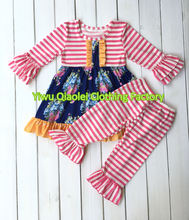 99511b762 Smocked children clothing wholesale remake toddler girl outfits ruffle girl  boutique bulk sets-in Clothing Sets from Mother & Kids on Aliexpress.com ...