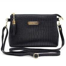 Женская знаменитая брендовая модная кисточка маленькие сумки Горячая Распродажа крокодил женские кожаные сумки через плечо мини-сумка через плечо