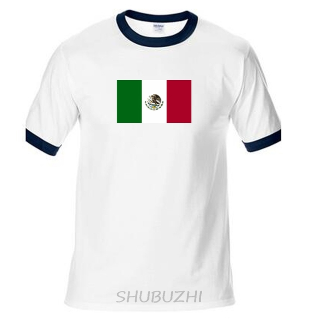 2c507b7da United Mexican States Mexico t shirt men casual jerseys t-shirts 100% cotton  nation team cotton fans streetwear ringer Tee