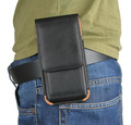 Vertical Man Belt Clip Case Rotary Mobile Phone Leather Case Pouch For Doogee Titans2 DG700