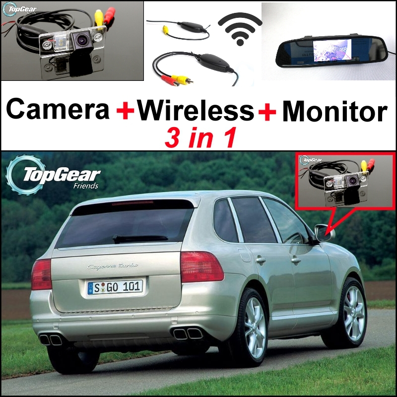3 in1 Special Rear View Wifi font b Camera b font Wireless Receiver Mirror Monitor Easy