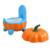 Venda quente Tipos de Abóbora Crianças Confortáveis Do Bebê Higiênico Mictório Crianças Urina Comadre Fezes Assento Traing Higiênico Potty Estável
