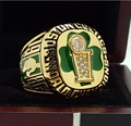 1986 Boston Celtics basketball world championship Ring 8-14S copper solid back ingraved inside for BIRD