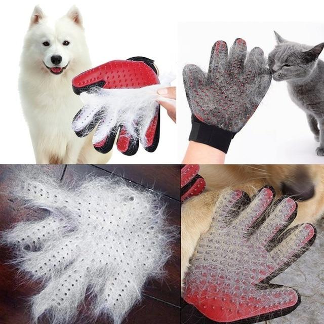 Gant Magique anti-poils pour Chat & chien 5