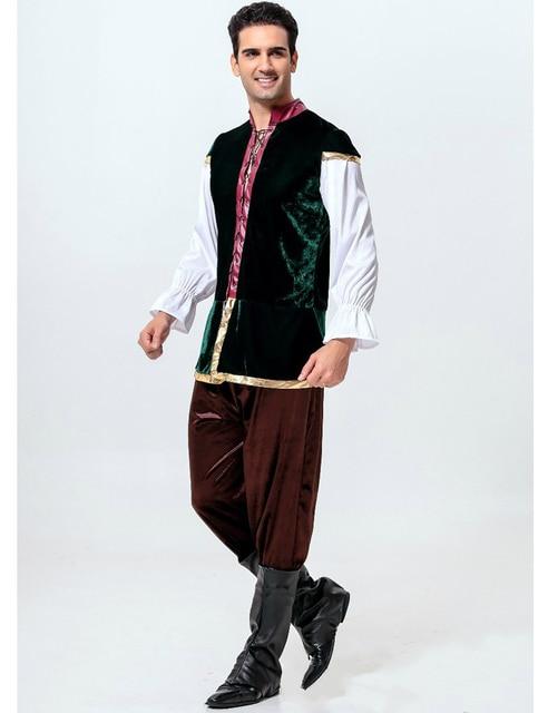 MOONIGHT Man Oktoberfest Costumes Octoberfest Bavarian Beer Party Clothes Adult Men Hot 4