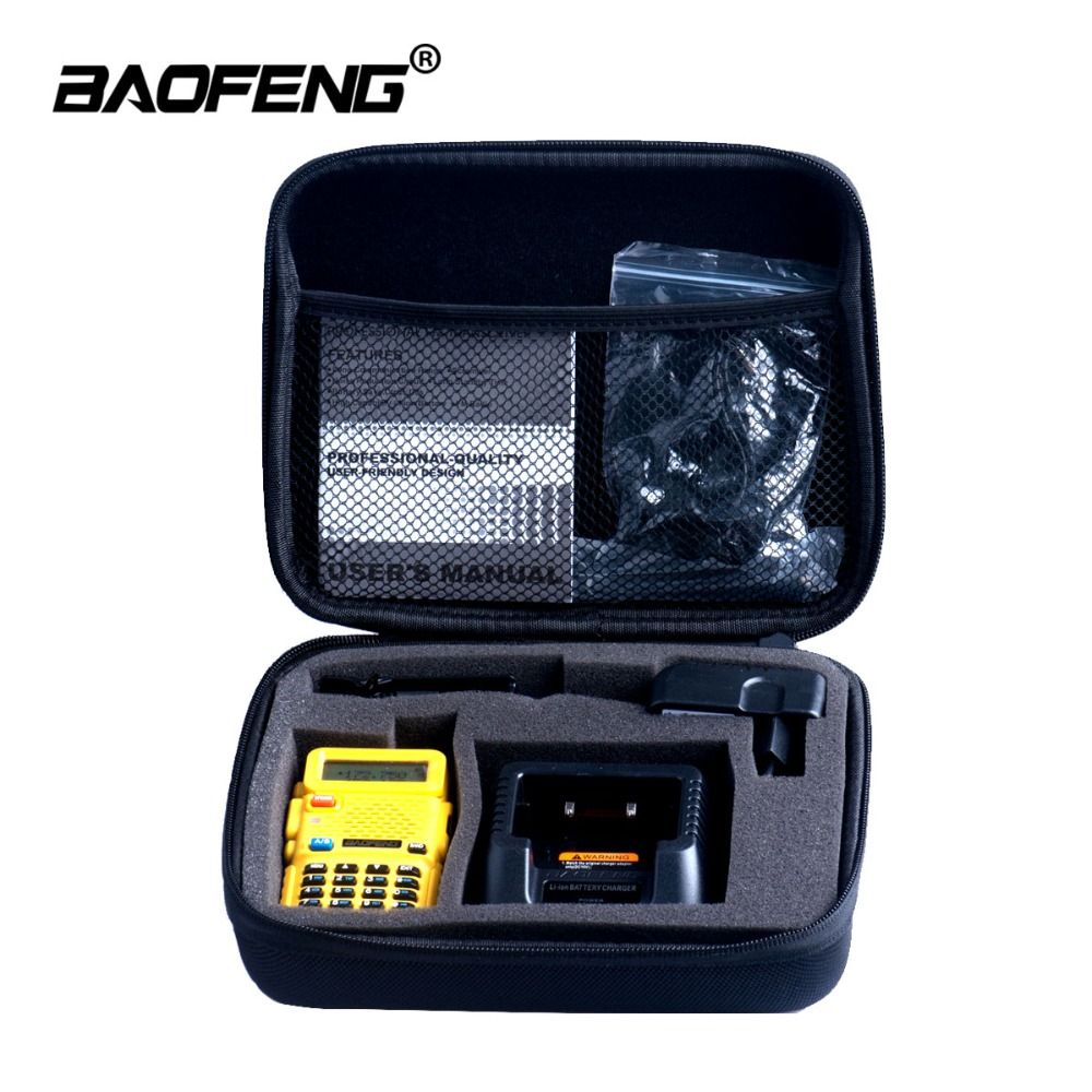 Walkie Talkie Handbag Baofeng Radio Portable Bag UV-5R Nylon Protective Storage Bag For UV 5R 5RE 5RA CB Radio Case Accessories