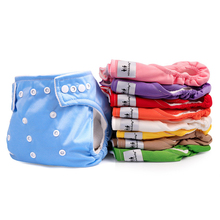 Baby Polyester Cotton Training Pants Reusable Soft Cloth Diaper Shorts Infant Adjustable Washable Nappy