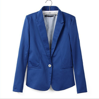 new hot stylish and comfortable women's Blazers Candy color lined with striped suit Free Shipping WL2314 4