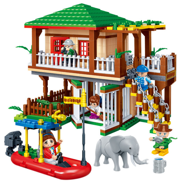 National Zoo Park Blocks Set