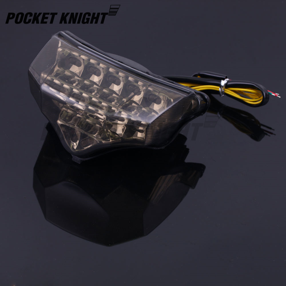 LED-R/ücklicht f/ür Yamaha FZ6 FZ6 S2 2004-2010 Fazer