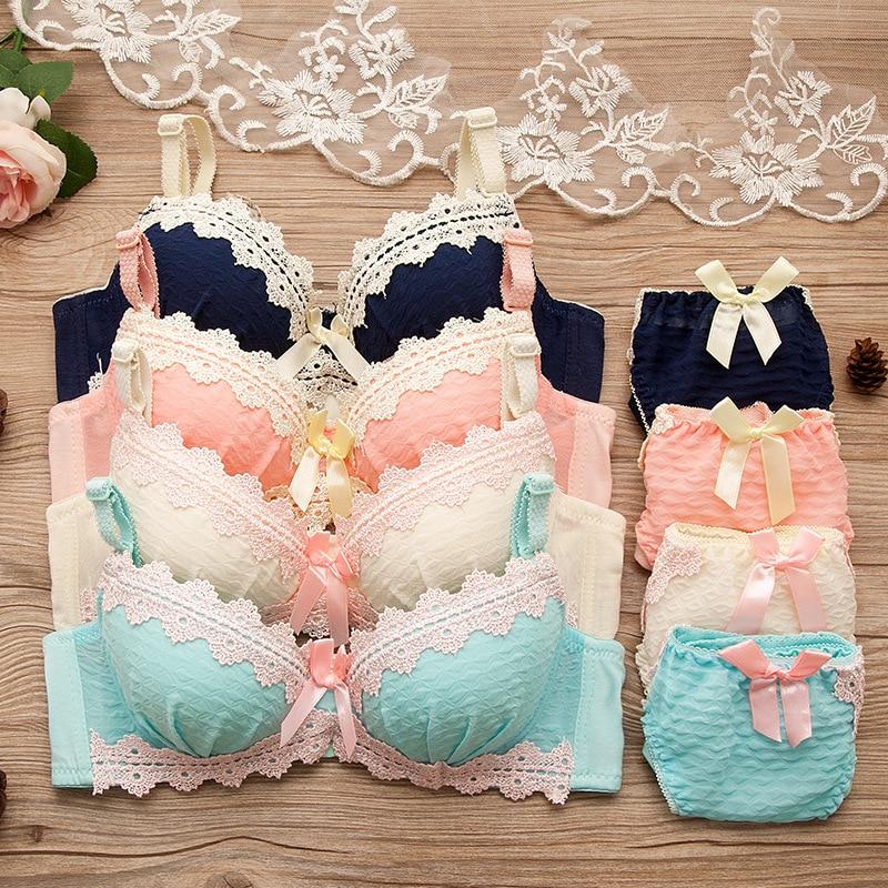 Training Bra For Girls Retro Underwear For Girls Teen Girl's Bra Pure Cotton Underwear For Children