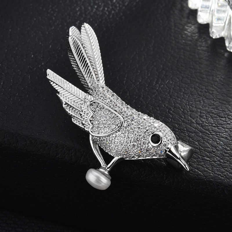Fashion Kreatif Burung Bola Bros Bermutu Tinggi Pin Liar Temperamen Mantel Bros Hot Sale