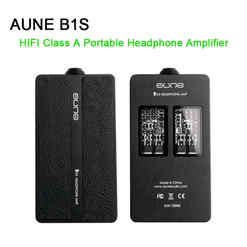AUNE B1S Hifi casque amplificateur classe A entièrement discret grande poussée Portable DSD casque Amp-in Casque Amplificateur from Electronique    1