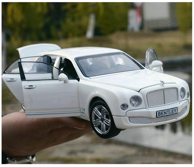 Sammeln Druckguss 1:24 Statische Auto Modelle Legierung Fahrzeuge Spielzeug für Kinder gld52 Bentley Muzanne Geburtstag Geschenk-in Diecasts & Spielzeug Fahrzeuge aus Spielzeug und Hobbys bei  Gruppe 1