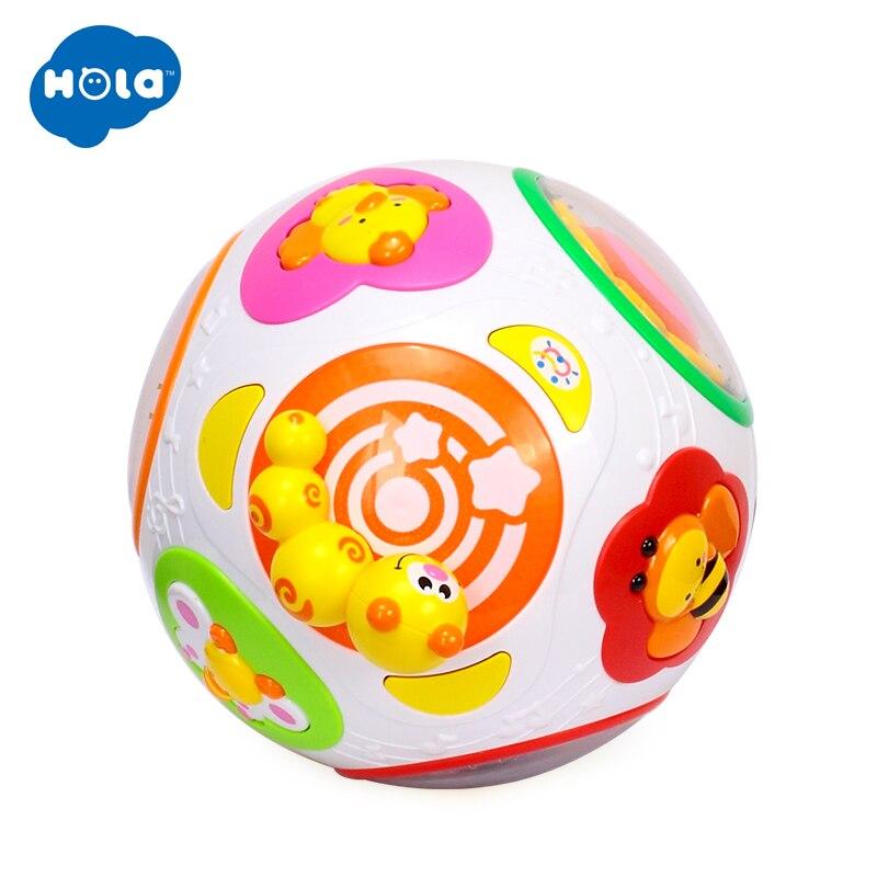 HOLA 938 bébé jouets enfant en bas âge ramper jouet avec musique et lumière enseigner forme/nombre/Animal enfants apprentissage précoce jouet éducatif cadeau - 2