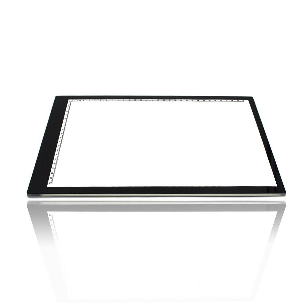 0 55mm Ultra thin A4 LED Light Pad Acrylic Copy Tracing Borad Art Craft Stencil Tracing