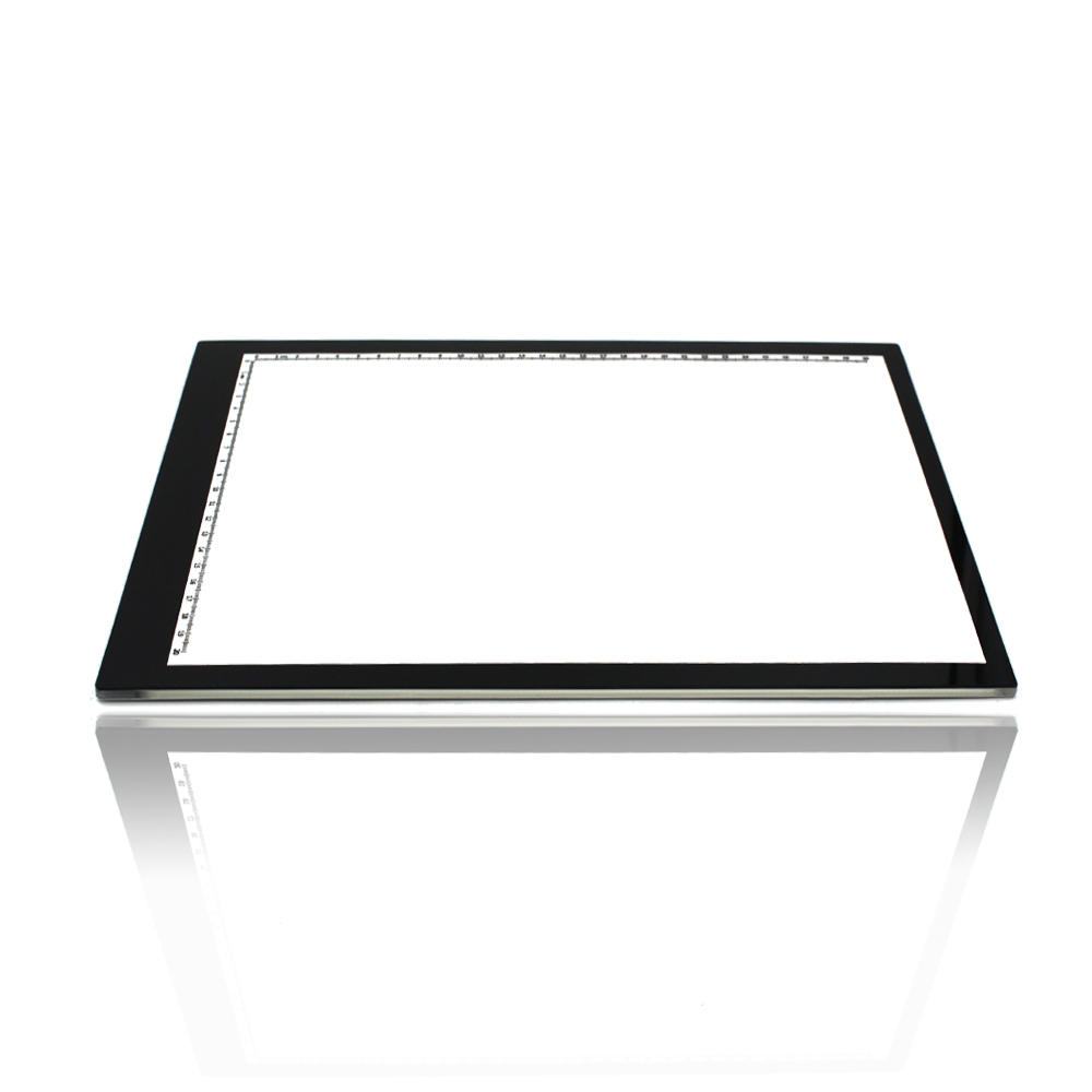 Craft light box for tracing - 0 55mm Ultra Thin A4 Led Light Pad Acrylic Copy Tracing Borad Art Craft Stencil Tracing