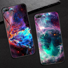 Goterfly glass phone case for huawei honor 9 lite painted protective back cover cases 5.65 inch Huawei Honor Lite