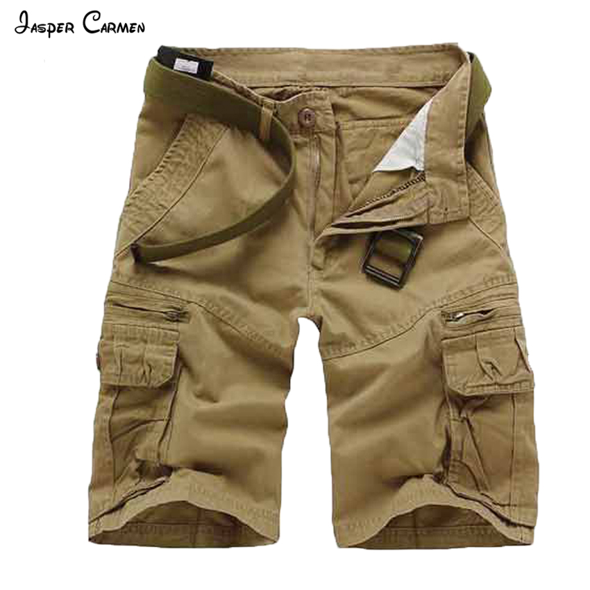 New Arrival 2016 Fashion Plaid Beach Shorts Mens Casual Camo Camouflage Shorts Military Short Pants Male