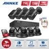 ANNKE 8CH 1080P HDMI CCTV Surveillance DVR Kit 8pcs 720P HD 1200TVL CCTV Security Cameras IR