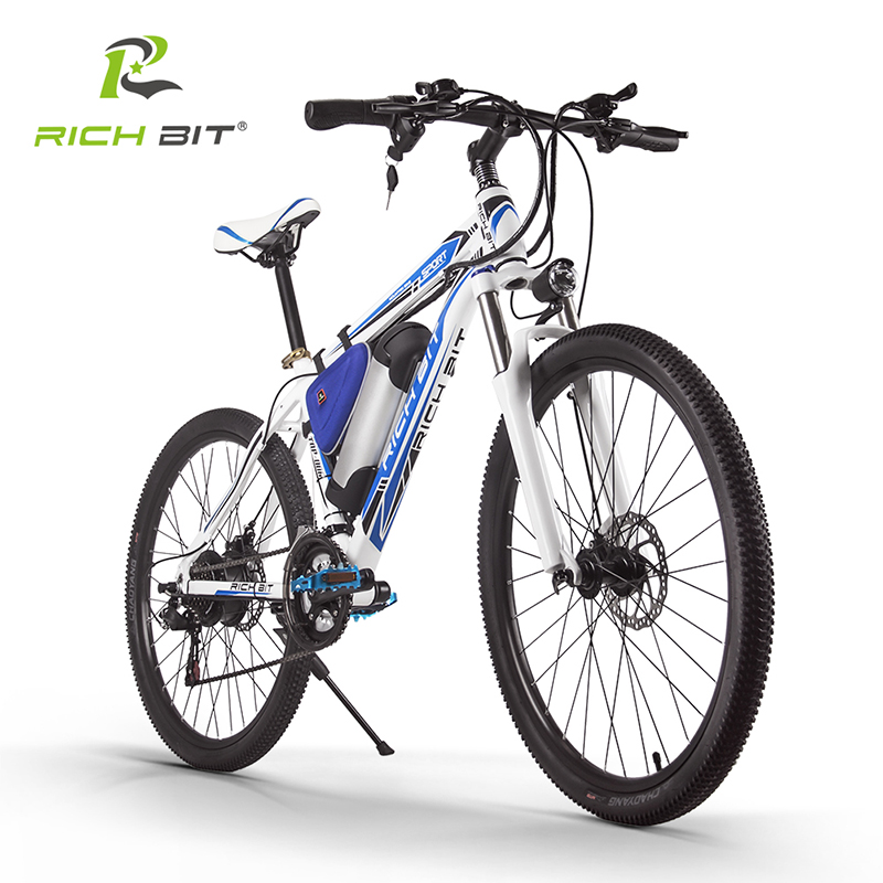 Shipping Free RichBit RT-006 MTB ebike 36V 10.4AH Lithium Battery Electric Bicycle 21 Speed Mountain Electric Bike 250W EBike free shipping electric bicycle battery 36v 13ah e bike li ion battery 36 v 13ah lithium scooter battery for ebike 500w motor