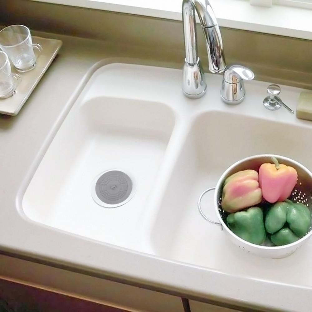 Kitchen Rubber Bath Tub Sink Floor Drain Plug Kitchen Laundry Water Stopper Tool Laundry Bathroom Sink & Bathtub Accessories