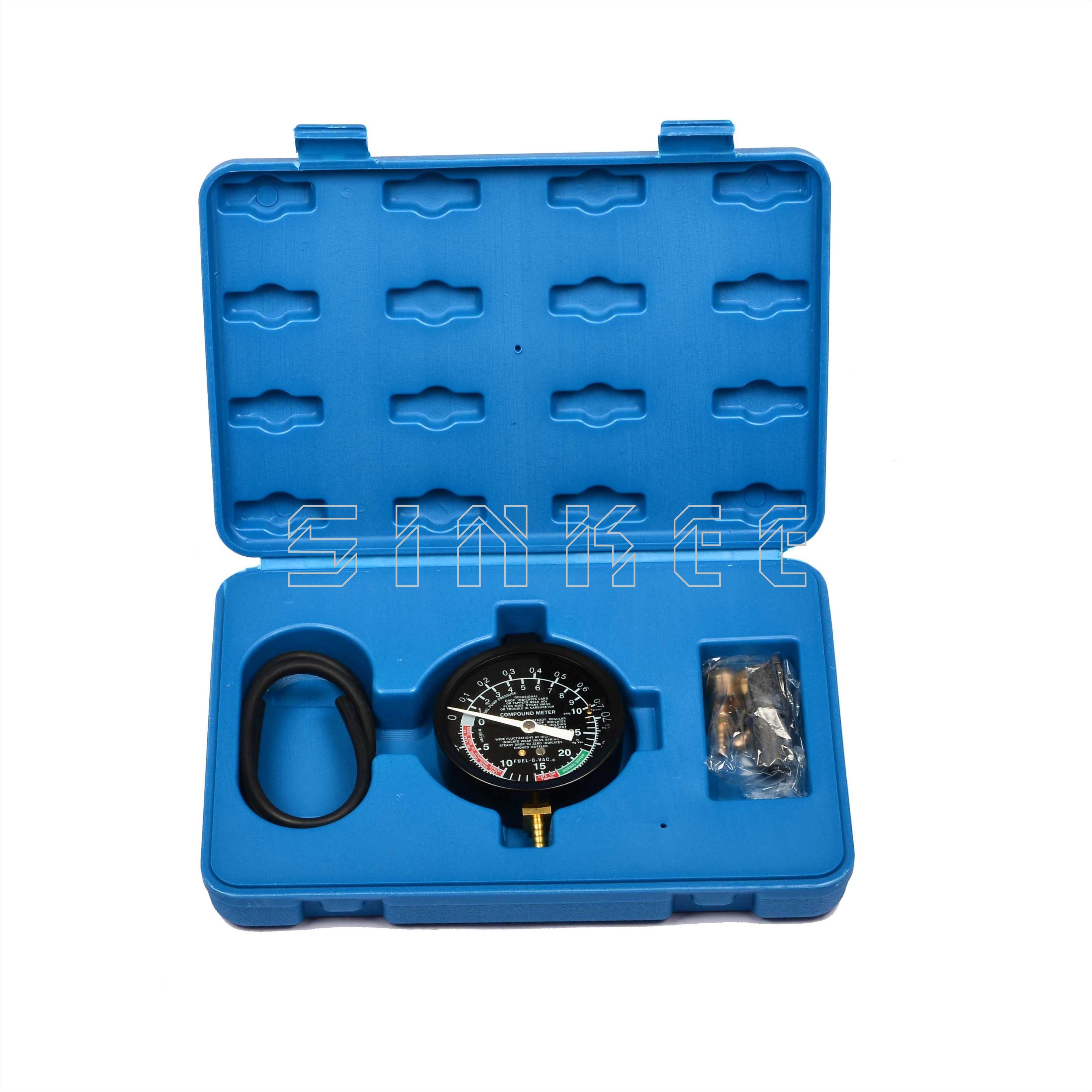 Fuel Vacuum And Fuel Pump Pressure Tester Gauge Kit