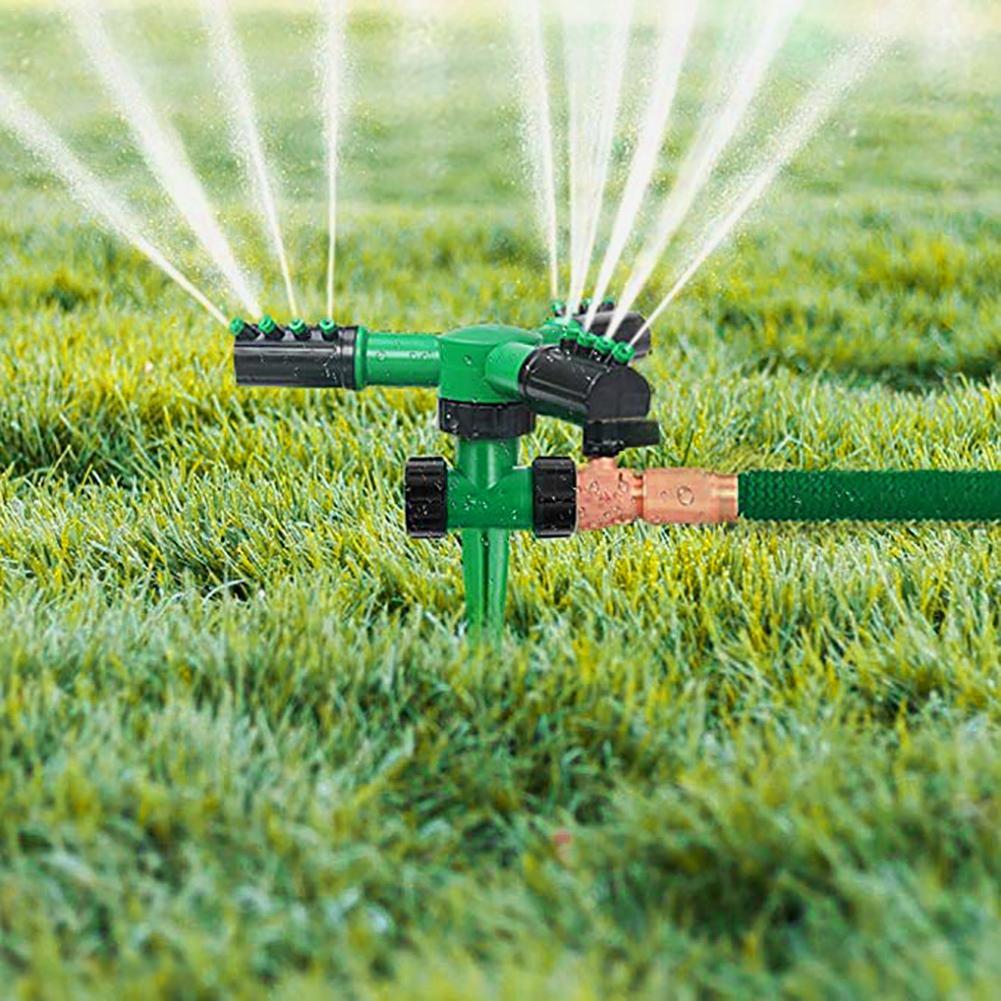 Water Sprinkler Lawn Dripper Garden Irrigation Yard Spray Hose Emitters Rotating