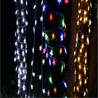 Wholesale 3Pieces 10M 100LEDs 110 220V Waterproof Christmas Tree Flash Fairy String Light Home Garden Decoration