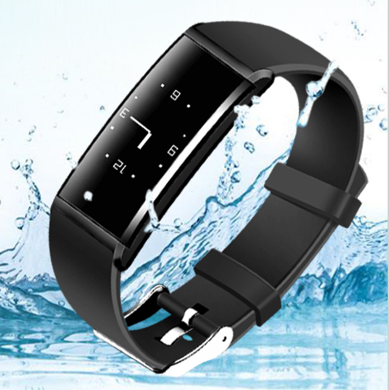 HESTIA X9 Smart Bracelet Heart Rate Smart Band Blood Pressure Monitor Smart Wristband Fitness Tracker Smartband