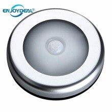 Настенный светильник с пассивным инфракрасным датчиком движения, 6 светодиосветодиодный, активация, ночсветильник, Индукционная лампа для чулана, коридора, кабинета, сенсорсветильник освещение, s лампы